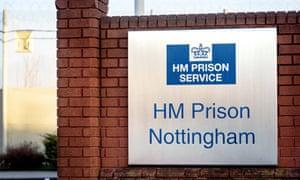 HM Prison, Nottingham.