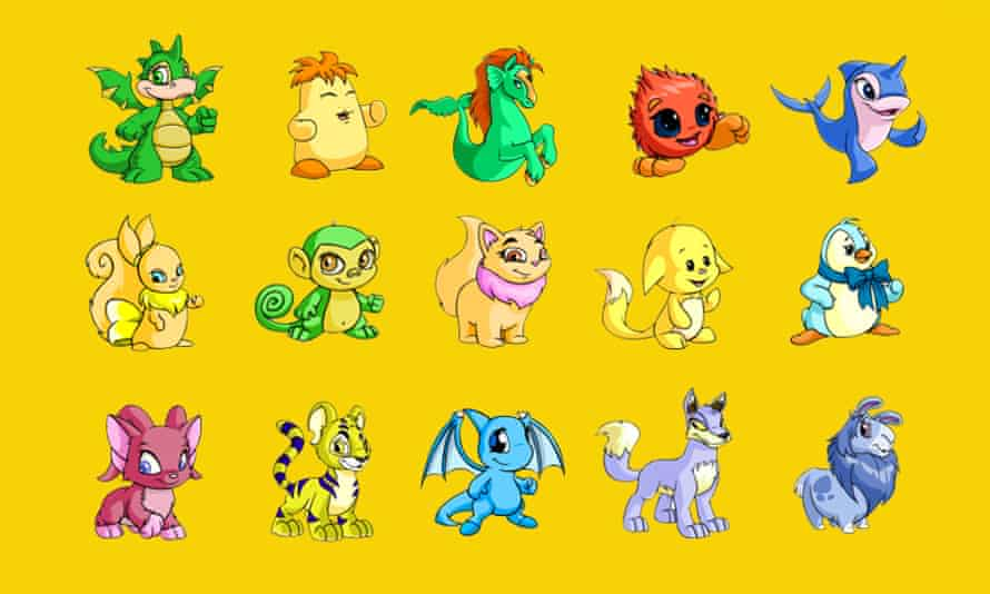 A place for friendship … Neopets.