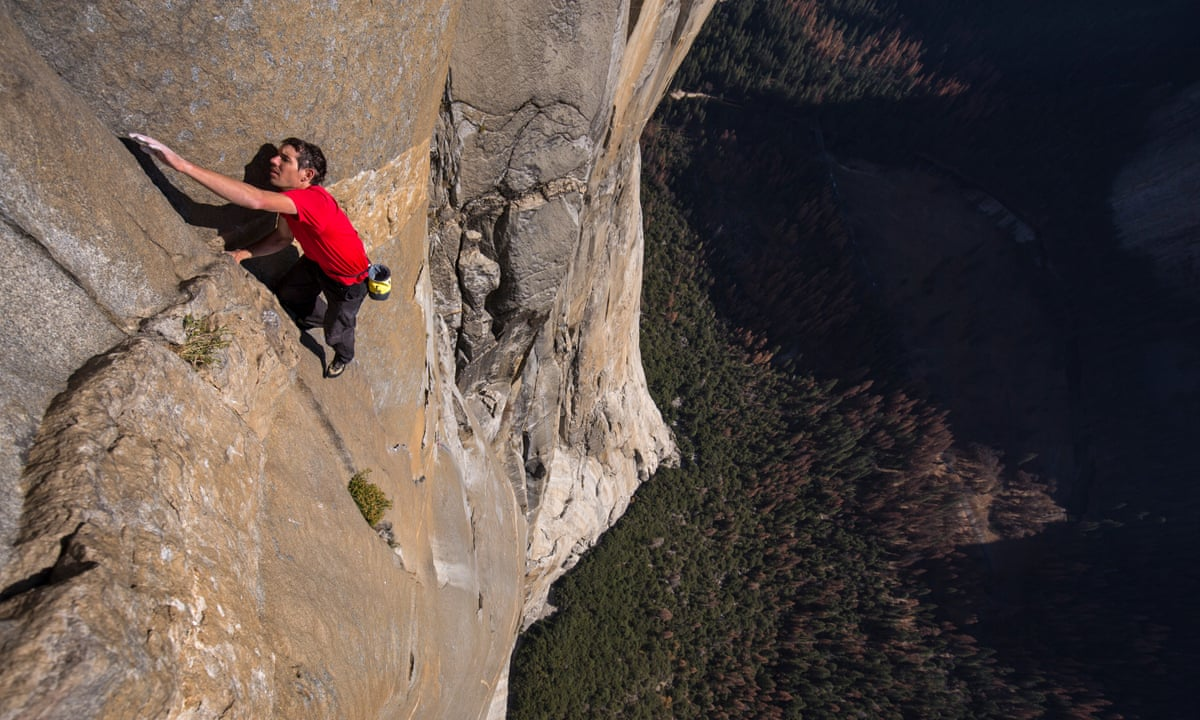 Scene from Free Solo