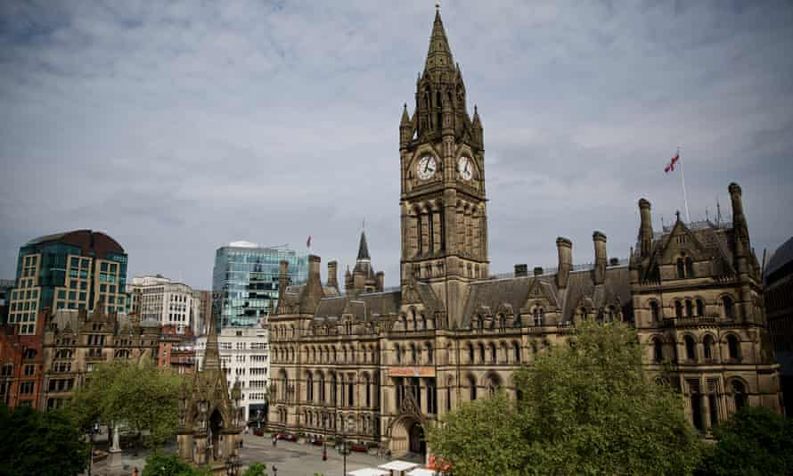 Manchester town hall, prized for its close resemblance to the Houses of Parliament.