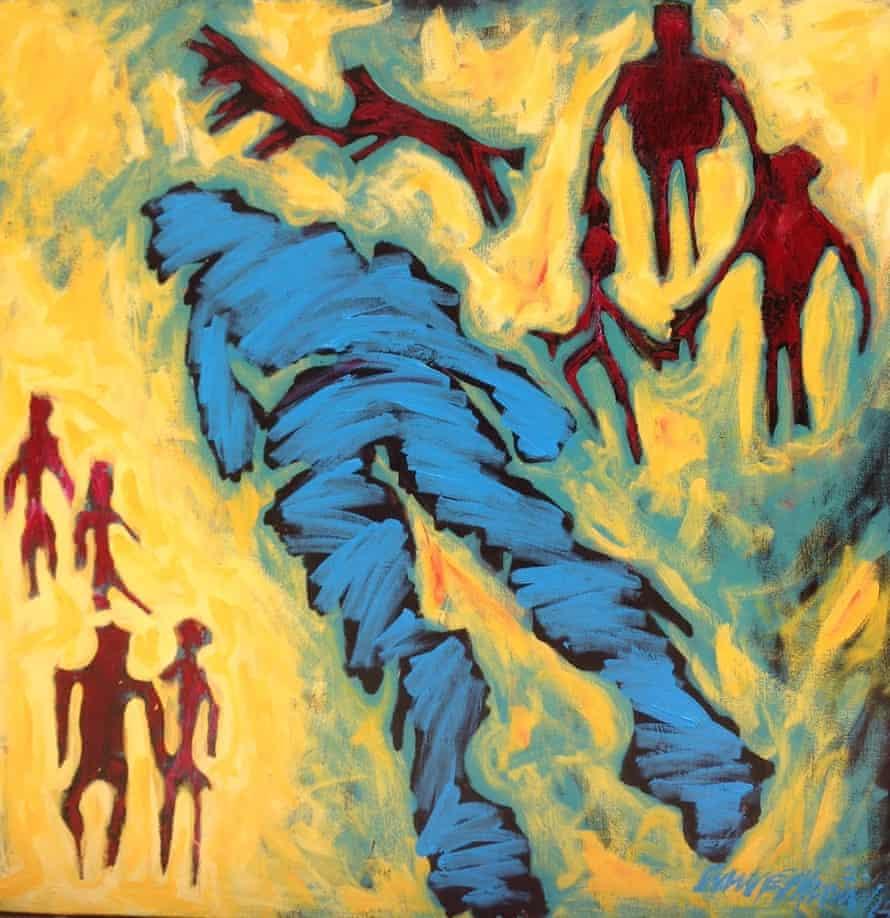 The King Is Fallen by Anne Mwiti.
