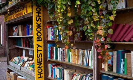 Bookshop in Bredevoort, the Netherlands.