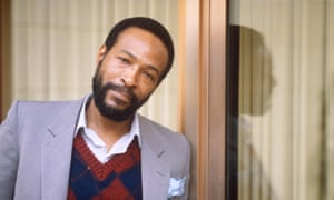 Trouble man … Marvin Gaye in 1981.