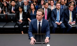 Mark Zuckerberg testifies in Washington. 'Facebook and the other tech monopolies dwarf the power of the state.'