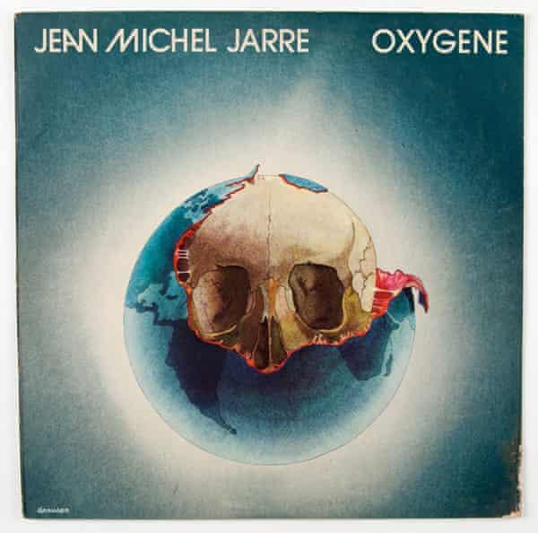 'That's the album cover!' … Michel Granger's Oxygène cover.