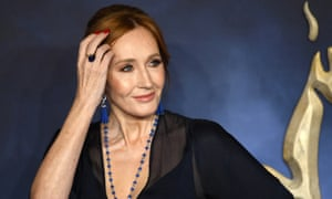 JK Rowling at the premiere of Fantastic Beasts: The Crimes of Grindelwald.