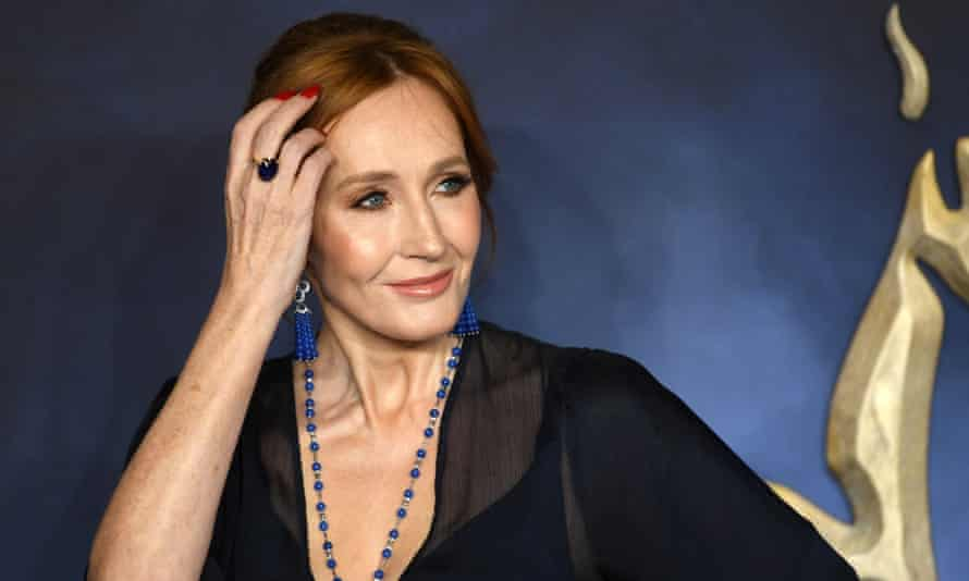 JK Rowling, 'a wealthy woman who has a positive impact.'