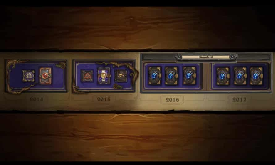 A screenshot of the video explaining the launch of standard and wild formats.