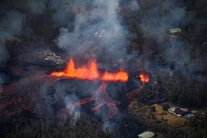 Hawaiian Volcano Observatory geologists have not been able to forecast an end to the eruption.