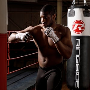 Daniel Dubois: 'My dad is very special. He brought me to this very gym, the Peacock, when I was six and I took to it straight away.'