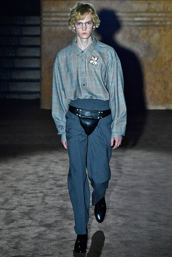 Intended To Induce Awe Codpiece Thrusts Itself Back Into Fashion Fashion The Guardian