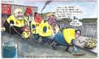 Martin Rowson on Boris Johnson's plan to put offenders in chain gangs – cartoon