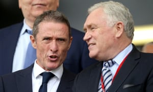 Robert Elstone (left) is the man Super League want to move the competition forward and help broker a new TV deal.