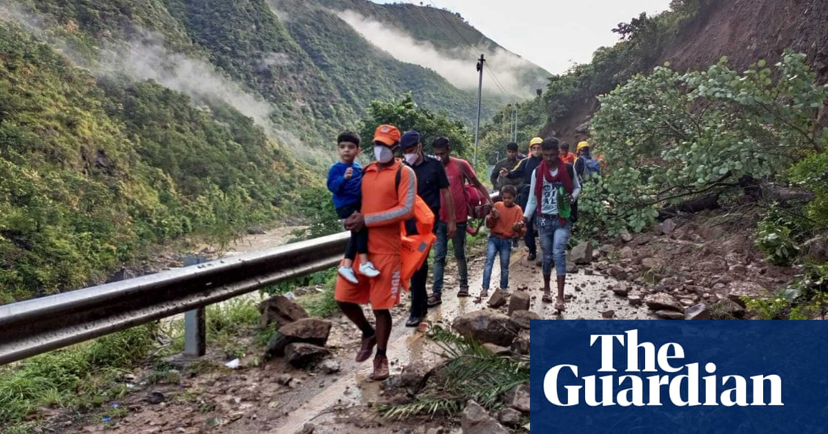 At least 46 dead in flooding and landslides in northern India