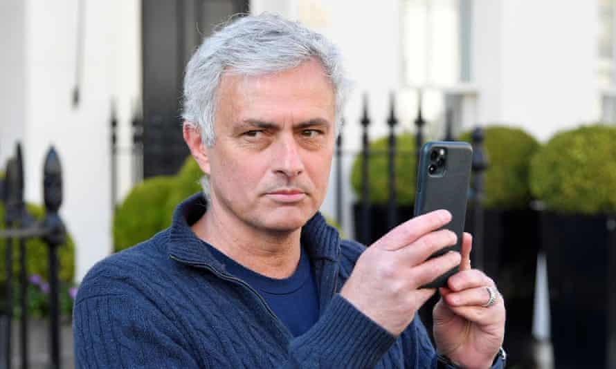 José Mourinho, pictured in London after his sacking by Tottenham, is heading to Roma.