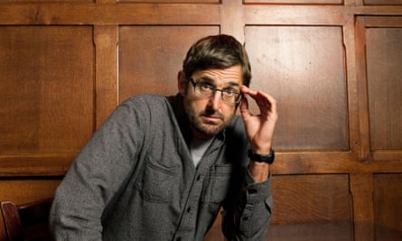 Documentarian Louis Theroux, photographed outside BBC studios, London.