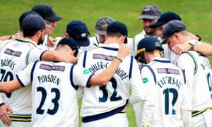 Yorkshire earned 12 points from the draw at Trent Bridge.