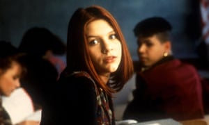 Claire Danes as Angela chase in My So-Called Life