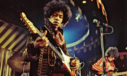 The Jimi Hendrix Experience performing in 1967