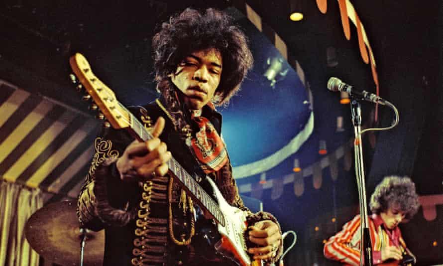 Jimi Hendrix … insane, really powerful