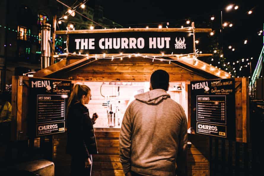 Churro hut at Thor's Tipi Bar, Leeds