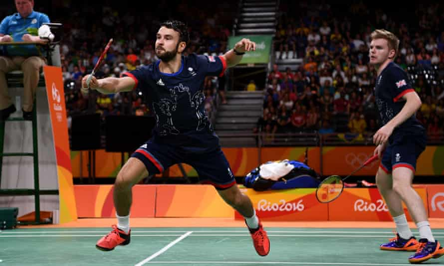 Chris Langridge, left, an Olympic bronze medalist in Rio with his partner Marcus Ellis, has argued passionately for UK Sport to reverse their decision to cut badminton's funding.