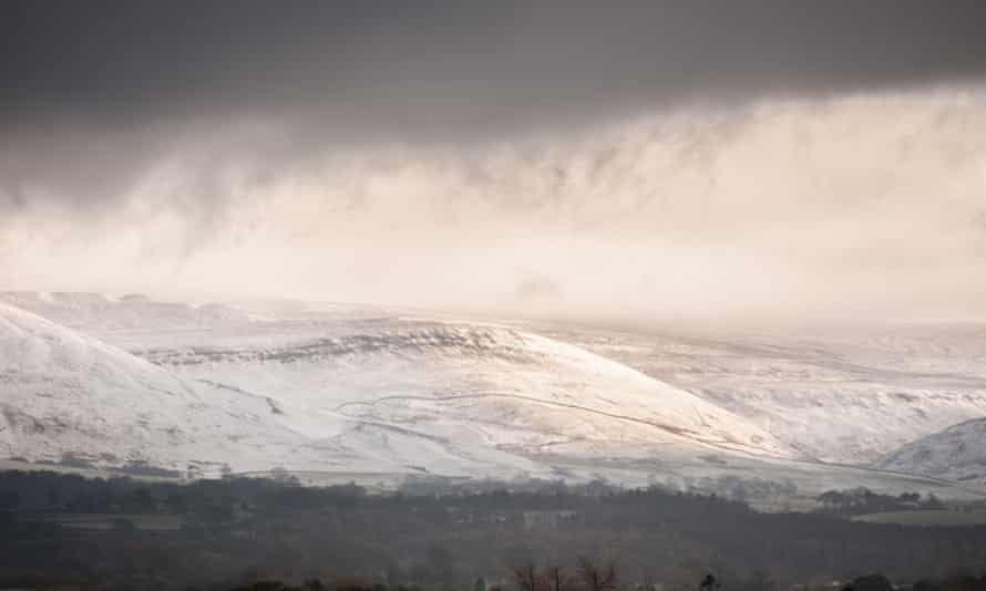 Eden Valley in the Pennines: autumn in Britain means shorter days and cloudier skies.