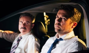 Darren Gilshenan and Patrick Brammall in Stan's No Activity