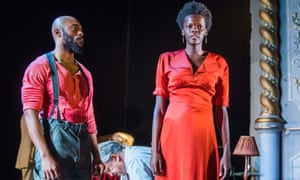 Arinze Kene and Sheila Atim in Girl from The North Country.