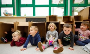 Since 1945, governments have invested in nursery schools.