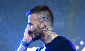 b6519a11b6d4b Hooked on ink: is it possible to be 'addicted' to tattoos? . David Beckham  has added a new tattoo ...