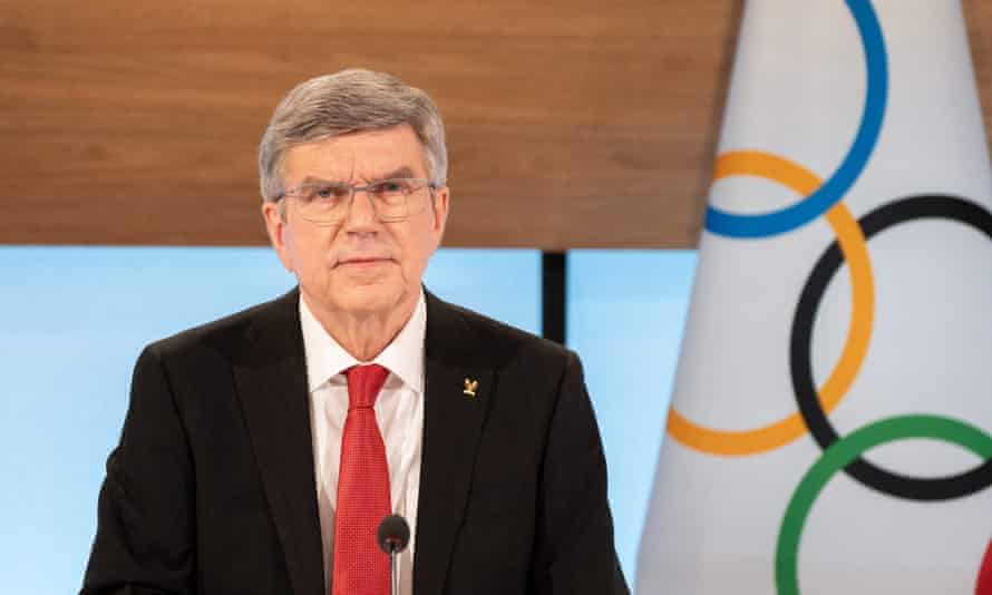 The IOC president, Thomas Bach, said Olympic boycotts have never achieved anything.
