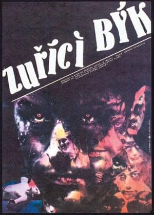 Czech Raging Bull poster