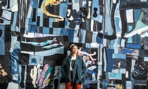 Tau Lewis, 26, has her first exhibition in Europe at The Hepworth Wakefield as part of the festival