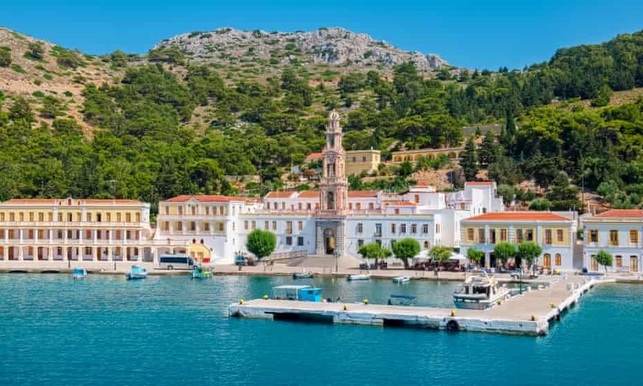 Monastery of the Archangel Michael at Panormitis, Symi.