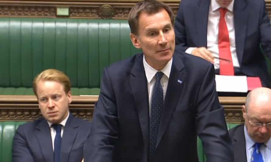 Jeremy Hunt rejected the idea of any further talks with the doctors' union.