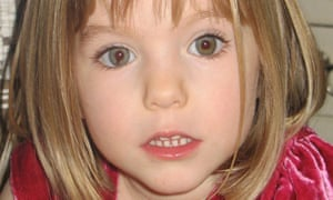 Handout photo of missing girl Madeleine McCann, who went missing in 2007