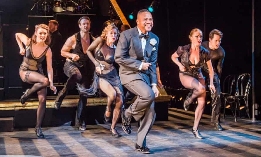 Museum theatre … Cuba Gooding Jr as Billy Flynn, centre, in Chicago.