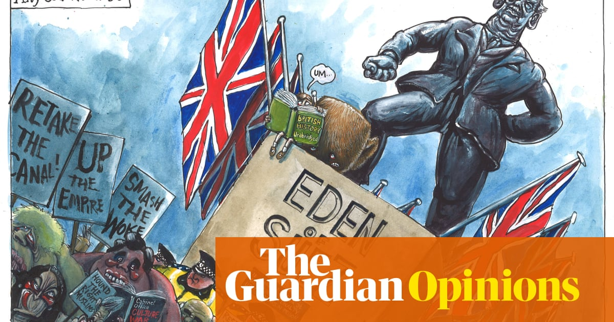 Martin Rowson on the latest in UK culture wars – cartoon
