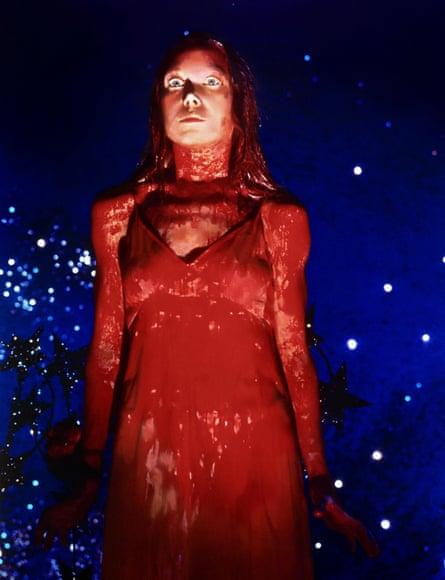 'Preternatural' … Sissy Spacek in the film adaptation of Carrie, by Stephen King.