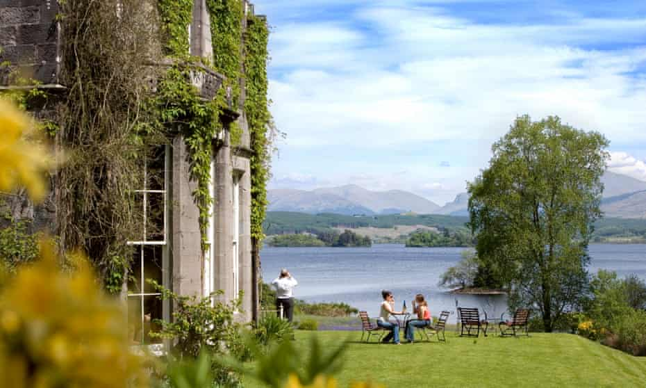 Loch and awe: a stay at Ardanaiseig Hotel on the shores of Loch Awe.
