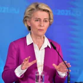 Ursula von der Leyen: EU kept flame alive.