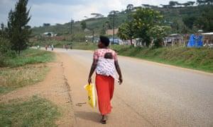 Sadres Tukamushaba, a 32-year-old mother of seven