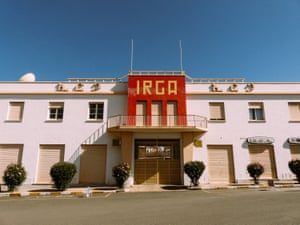 Avant garde Africa. The IRGA garage building was designed by Carlo Mazzetti in 1961. Asmara was the Italian modernist capital of Africa, showcasing some of the world's first examples of novecento Italiano, futurism, art deco and monumentalism in architecture.