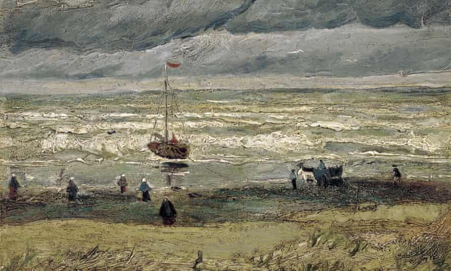 View of the Sea at Scheveningen.