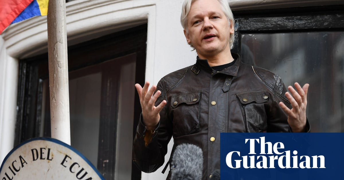 Assange trial: former security firm staff allowed to give anonymous evidence - the guardian