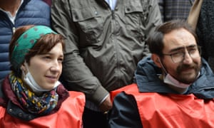 Nuriye Gulmen (left) and Semih Ozakca, pictured in May.