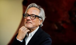 The sculptor Anish Kapoor