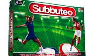 The classic Subbuteo box has also been given a new design.