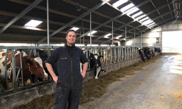 Dutch dairy farmer Pieter Heeg